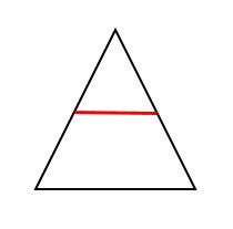 "Méthode du ""triangle"" pour la transformation de formule du type a = b x c"