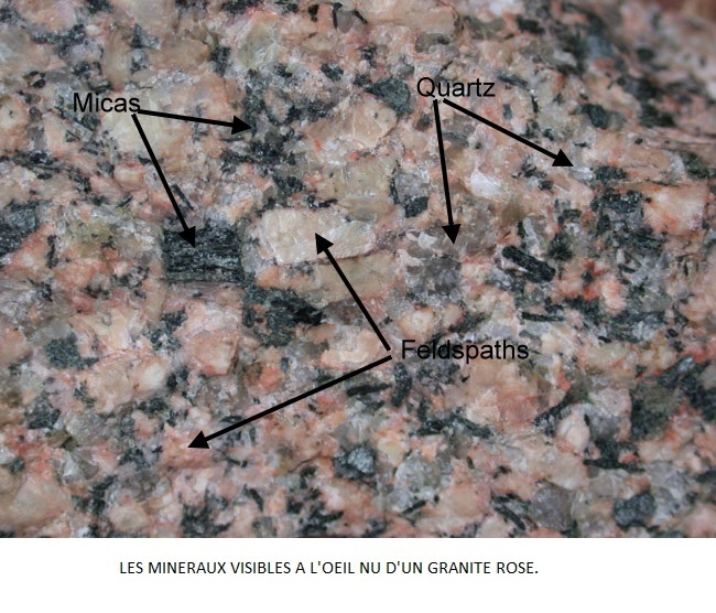 lithosphère continentale, granit rose