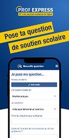 Application smartphone gratuite de soutien scolaire en ligne