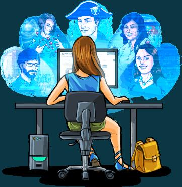 classes virtuelles de soutien scolaire en ligne